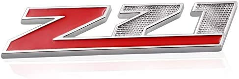 Matt silver Red Grille Z71 Emblem Decal for GM Chevy Silverado Colorado GMC Sierra Tahoe Suburban