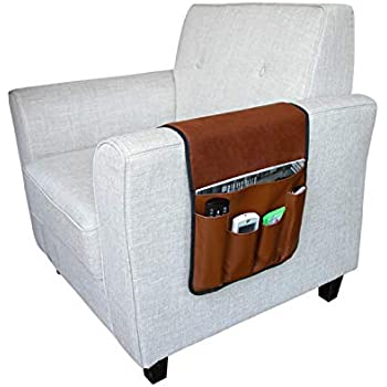 Amazon.com: Clobeau Armrest Caddy,Couch Caddy Remote ...