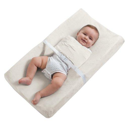 HALO SleepSack SwaddleChange Diaper Pad Covers, Cream, Newborn Kiddopotamus Sleepsack