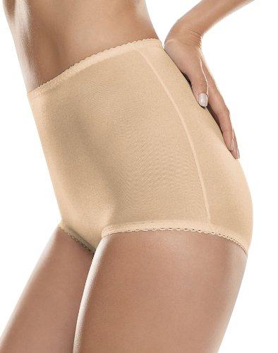Light Control Brief (Hanes Shapewear Women's Light Control 2 Pack Shaping Brief, Beige/Beige, 2X)