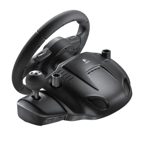 Logitech Driving Force GT - Volante/mando (Ruedas + Pedales, PlayStation 2, PlayStation 3): Amazon.es: Videojuegos