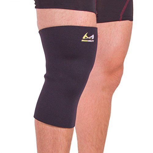 (BraceAbility Plus Size XXXL Compression Knee Sleeve)