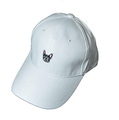 blanco francés bull diseño béisbol KGM de de Gorra color Accessories ZBq0nYz