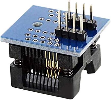 Tivollyff 耐久性のあるSOP8〜DIP8ワイドボディシートワイド200milピッチプログラマーアダプターソケットボード電子アクセサリー
