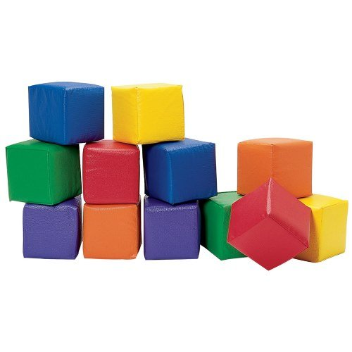 Children's Factory Toddler Baby Blocks - Primary Teaching Material (CF362-516), Multicolor