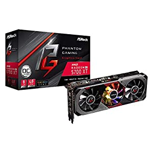 ASRock Phantom Gaming D Radeon RX 5700 XT 8G OC Video Card Model RX5700XT PGD 8GO 41Mba%2BKL1ZL. SS300
