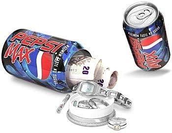 Weedness Pepsi Maxi - Caja Fuerte para Guardar Dinero en la Playa ...