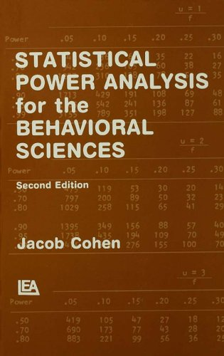 Download Statistical Power Analysis for the Behavioral Sciences Pdf