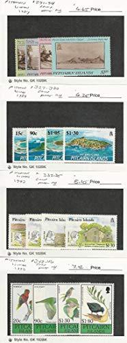 Pitcairn Islands, Postage Stamp, 291//346 Mint NH, 1987-90, JFZ