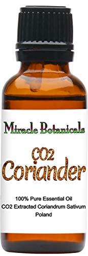 Miracle Botanicals CO2 Extracted Coriander Essential Oil - 100% Pure Coriandrum Sativum - Therapeutic Grade - 30ml