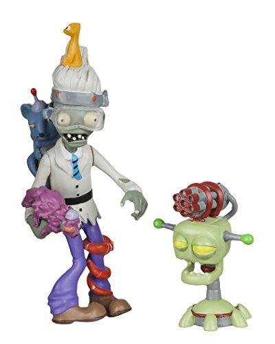 "Plants vs Zombies GW2 - 3"" Zoologist Figure with Laser Turret"