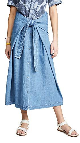 - Levi's Women's LMC Field Skirt, Comfort Denim, Blue, Medium