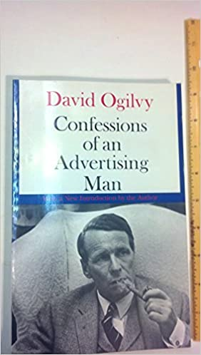 Book Confessions of an Advertising Man by David Ogilvy (1989-01-09)
