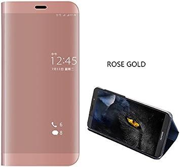 COVO® Funda para Huawei Mate 10 Lite Espejo Flip Case Espejo ...