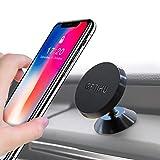 GETIHU Car Phone Mount Universal Dashboard Magnetic Cell Phone Holder for iPhone X 8 7 6s 6 5s 5 Plus Samsung HTC Motorola BlackBerry Smartphone GPS
