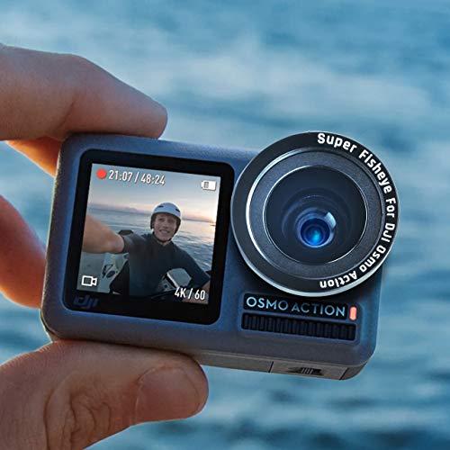 Adcom DJI Osmo Action Camera Fisheye Lens Compatible Osmo Action Camera