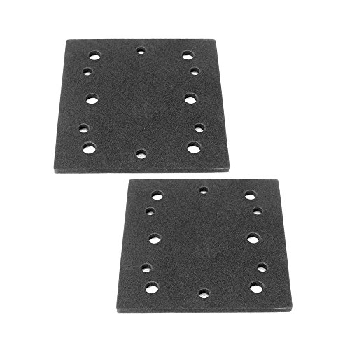 (Ryobi S652DK 1/4 Sheet Double Insulated Sander (2 Pack) Replacement Pad Assembly # 039066005051-2pk)