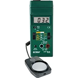 Extech 401025-NIST Light Meter with Nist