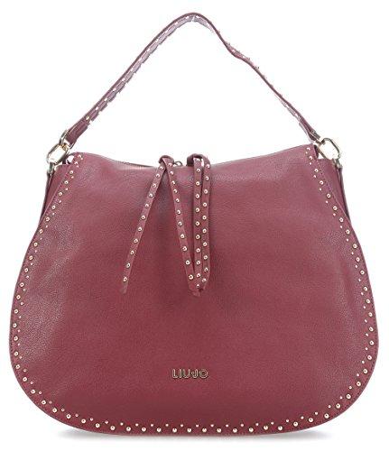 Liu Jo Gioia Dark Red Hobo Bag