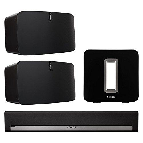 Photo Sonos 5.1 Home Theater Set with Sonos Play:5, PLAYBAR, and SUB