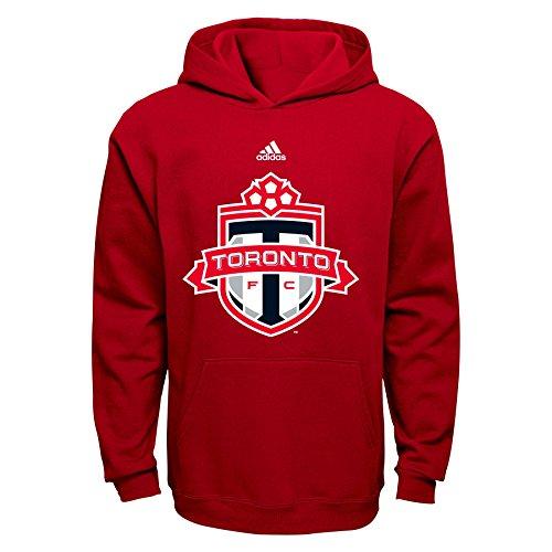 OuterStuff MLS Toronto FC Boys 8-20 Primary Logo Fleece Hoodie, Red, (Primary Logo)