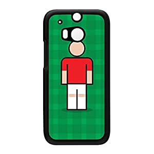 Benfica Black Hard Plastic Case for HTC? One M8 by Blunt Football European + FREE Crystal Clear Screen Protector
