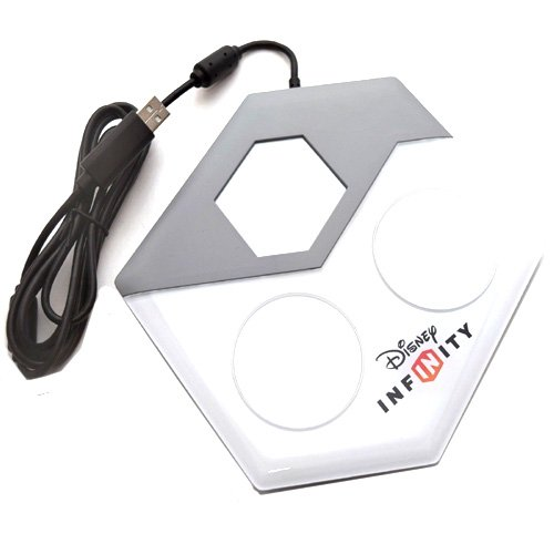 (Simply Silver - New Disney Infinity Figure Base Portal XBOX 360 Game Platform Arena 3.0 2.0 1.0)