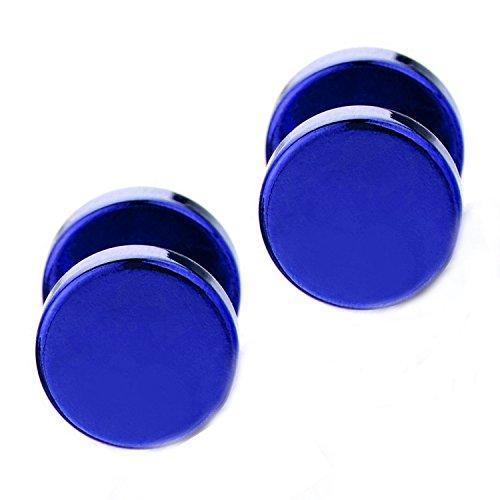 Joybeauti Stainless Cheater Illusion Earrings