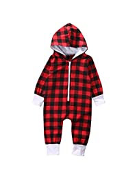 Flower Tiger Hooded Jumpsuit Baby Plaid Romper Costume for Baby Girls Boys