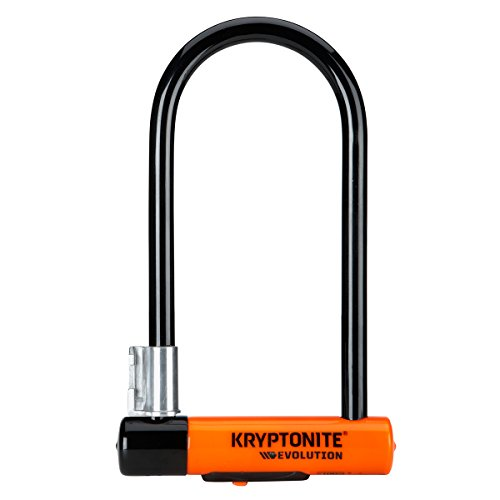 Kryptonite Evolution Standard 14mm U-Lock Bicycle Lock with FlexFrame-U Bracket