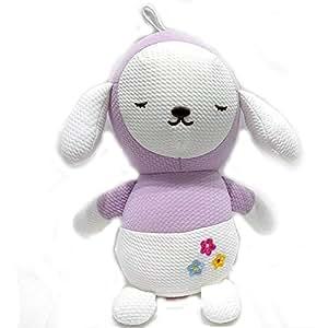 JOJO sleeping doll , purple-white color for kids