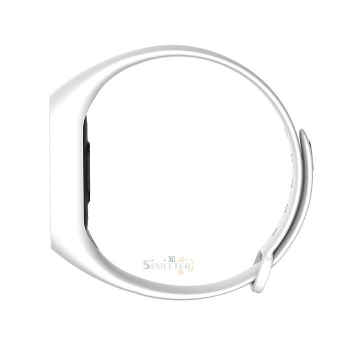 Amazon.com: FidgetKute Touchpad Smart Watch Wristband Bracelet Heart Rate Fitness Tracker Sleep Monitor White: Electronics