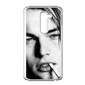 QQQO Leonardo Wilhelm DiCaprio Phone Case for LG G2