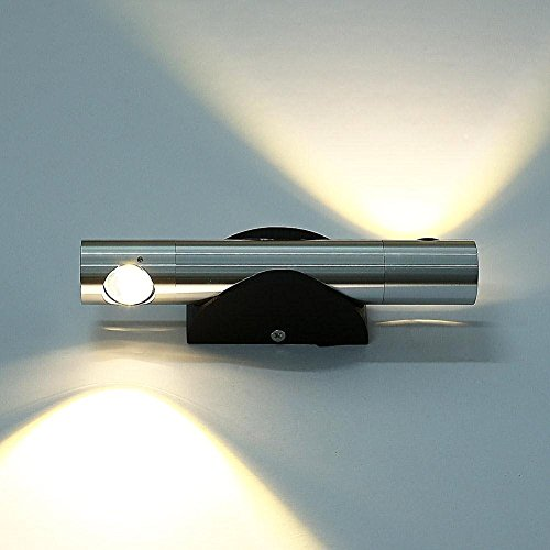Deckey 6W Angle-adjustable Warm White 2 LED Wal...