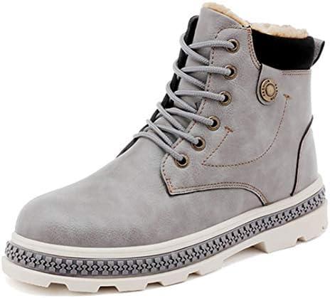 ブーツ メンズ 防寒 厚底 作業靴 カジュアル 通勤 ラウンドトゥ 裏起毛 ワークシューズ 保温 防寒 ショートブーツ 滑り止め 作業ブーツ アウトドア 雪靴 冬靴 安全靴 マーティンブーツ 暖かい ウィンターブーツ