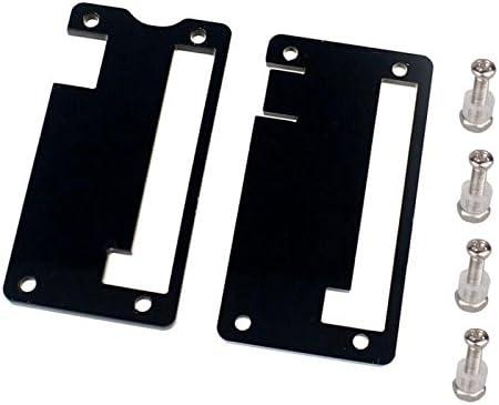 Black Feicuan Protective Cover Case Enclosure Box Shell Plexiglass for Raspberry Pi Zero Motherboard
