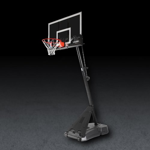 "Spalding NBA Hercules Portable Basketball Hoop - 54"" Acry..."