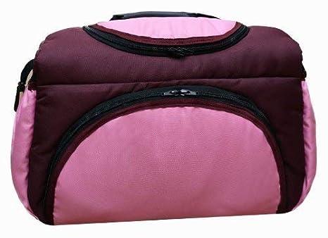 TP-11 bolsa cambiador con accesorios PIA de Baby-joy XXXL patrones de vestidos para tallas colour burdeos - Rosa bolsa para pañales sucios cuidado bebé ...