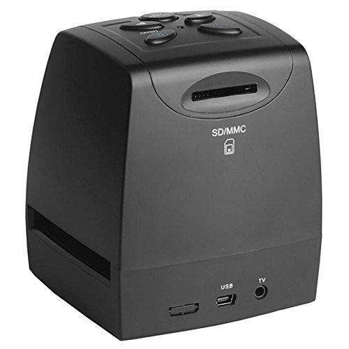 Del-Digital 35mm Negative Slide Film Scanner Photo Digitalizer Analog to Digital JPEG Picture File Converter Films Photo Scanner Copier 2.4'' LCD, US Power Plug by Del-Digital (Image #2)