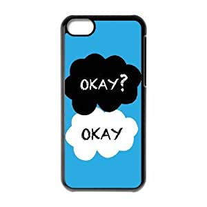 C-EUR Print Okay Okay Pattern Hard Case for iPhone 5C