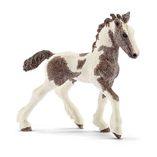 Schleich 13774 Tinker Foal Figurine, Brown & White