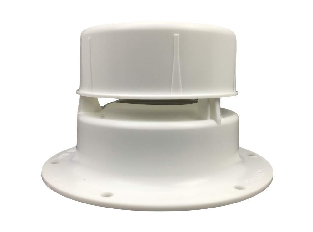 (KS) NEW RV Sewer Vent Cap For 1 1/2'' Pipe Removable Cap RV Trailer Camper -Overall Size 3'' H X 5 1/8'' Diameter at Base