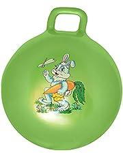 كرة نطاطة بيد - اخضر