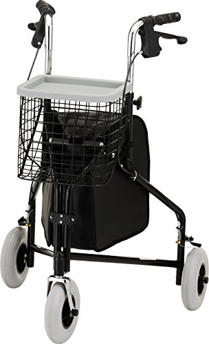 3 wheel rollator with seat - 2