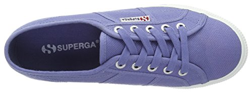 Down Blu Up and 2790 Acotw Superga Donna Velvet Sneaker Blue Linea 8ItXwxxq