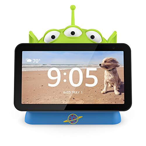 """Echo Show 5 Sandstone with Toy Story Alien """"Made for Amazon"""" OtterBox Den Series Stand"""