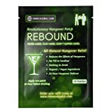 Rebound Hangover Patch 30-Day Supply Pack - Made in USA (30 Patches) - Organic Vegan - Sugar, Latex, Gluten Free