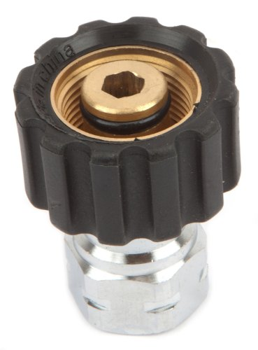 Forney 75108 Pressure Washer Accessories, Female Screw Coupling, M22F to 3/8-Inch Female NPT