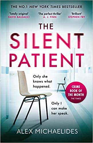 Image result for the silent patient cover