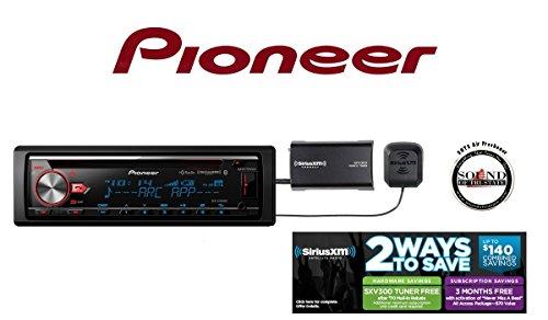 Pioneer CD Receiver DEH-X7800BHS w/ Built in Bluetooth, HD R